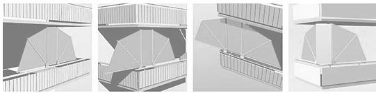 wind und sichtschutz von weinor und bikatec diemer. Black Bedroom Furniture Sets. Home Design Ideas